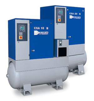 Industrial Screw Compressor