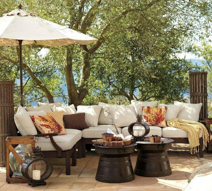 Furniture patio cushions
