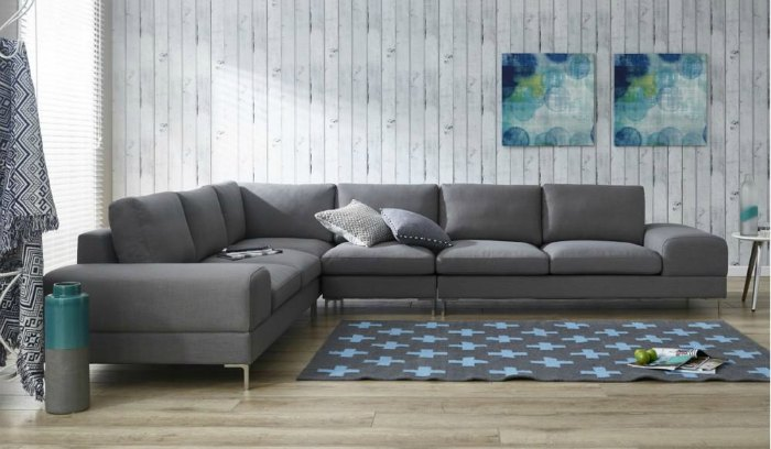 Modern corner lounge