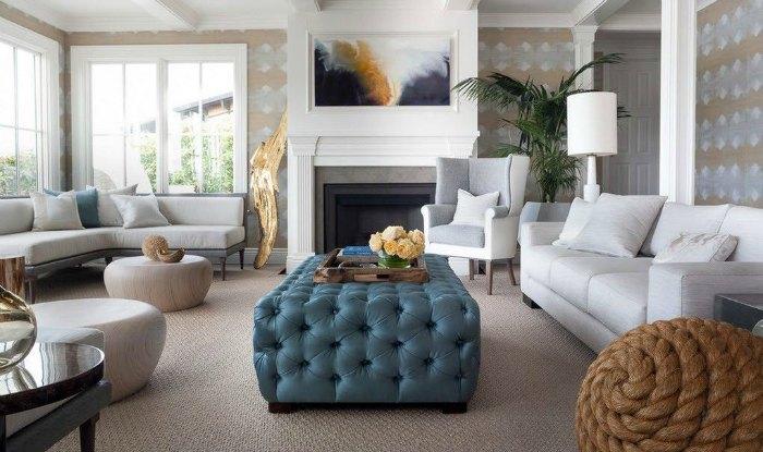 living room ottoman