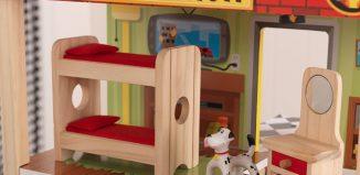 wooden firehouse