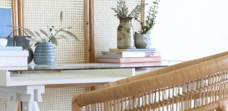 rattan screen dividers