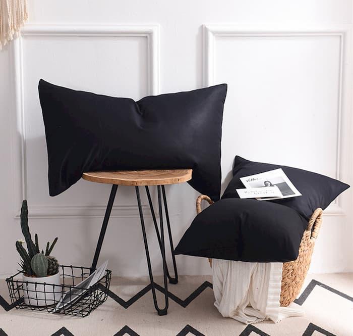 black bamboo pillowcases
