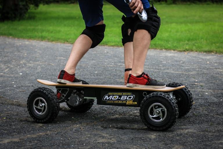 electric-skateboard off road