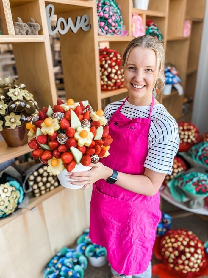 fruit bouquet sydney