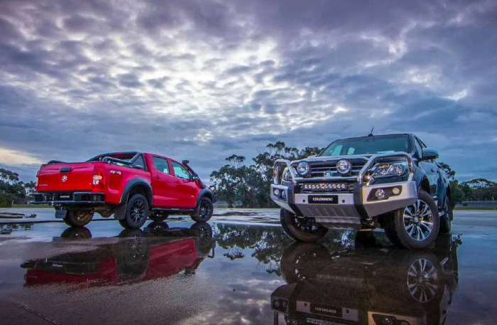 bull bars to suit holden colorado