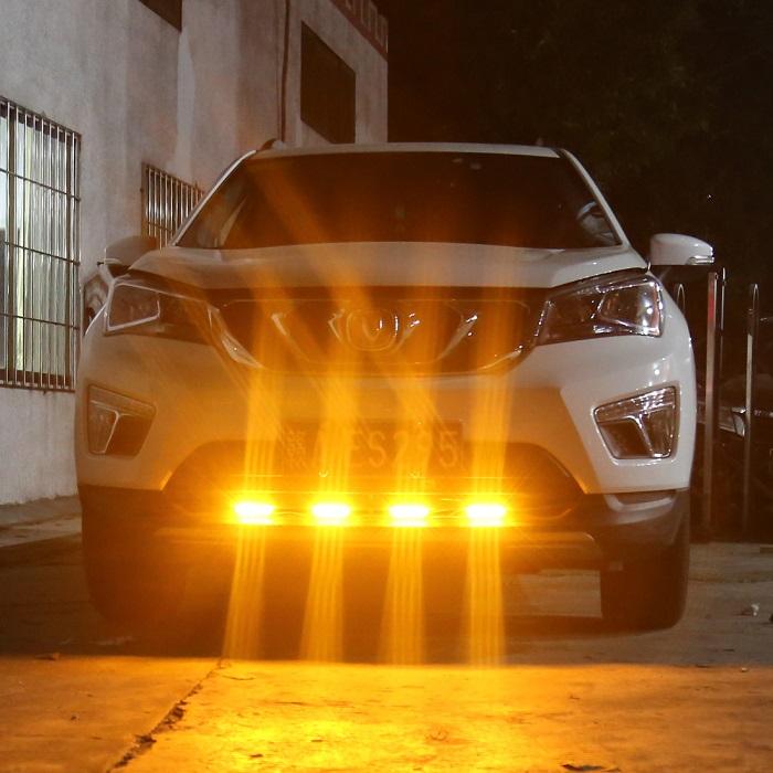 led warning lights for car