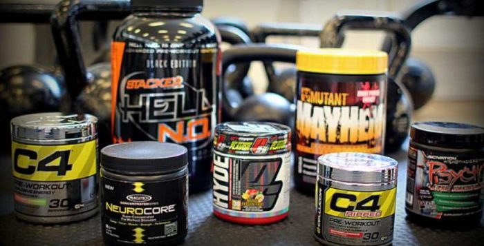supplements pre workout