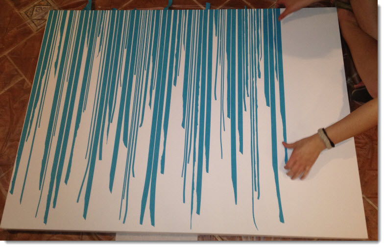 tape painting designs