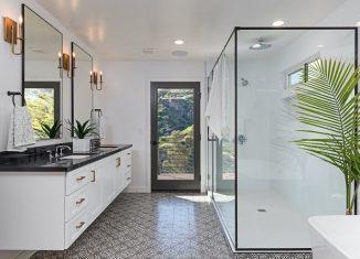 luxury spa bathroom