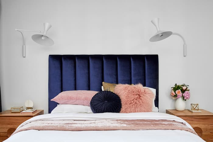 Headboards are the finishing touch that ties everything together in a beautiful, harmonious and visually appealing arrangement. You don't have to buy a new bed, if you have a divan or box frame, the options are infinite. To make your bed stand out, use paint, art, furniture, or even reclaimed building materials. You can simply swap out your headboard for something different if you become tired of the bed's appearance.