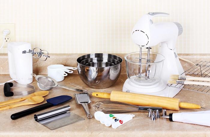 different baking equipment